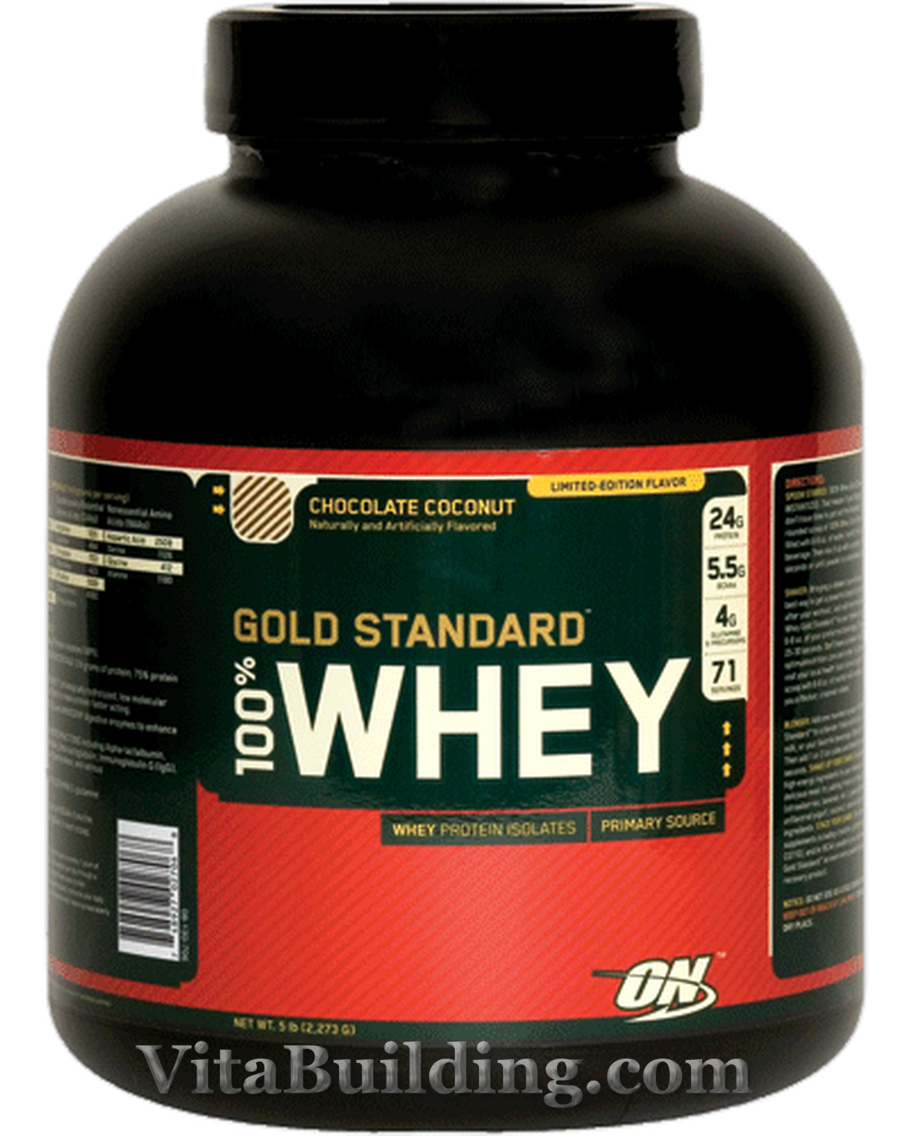Optimum Nutrition,GOLD STANDARD 100% WHEY Protein, 5 LB | eBay